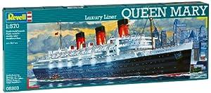 Revell Modellbausatz 05203 - Queen Mary en una escala de 1:570