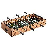 HOMCOM Mesa Multijuegos 4 en 1 Incluye Futbolín Air Hockey Ping-Pong y Billar - Juguete de Madera...