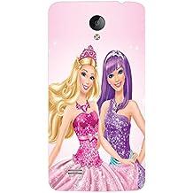 ColourCraft Princess Design Back Case Cover for VIVO Y21L