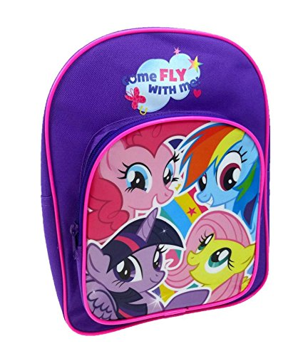 My Little Pony Zainetto per bambini, viola (Viola) - MLP001030