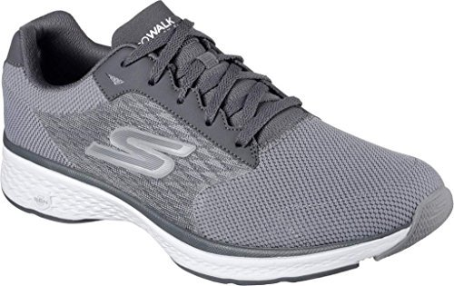 skechers-2017-mens-performance-go-walk-sport-goga-max-street-sports-shoes-gray-9uk