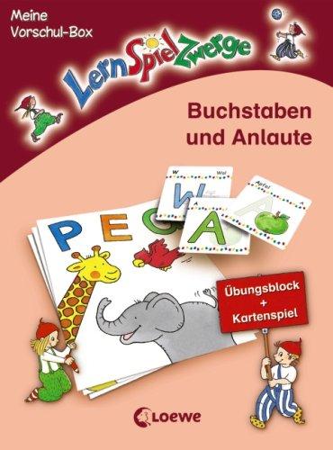 Buchstaben und Anlaute: Meine LernSpielZwerge-Vorschul-Box