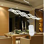 Lampadari, Lampadario LED,Moderna Lampada a sospensione regolabile,LIUSUN LIULU® 60W LED Lampadari a soffitto per ristorante,Ufficio,Soggiorno,Camera da letto