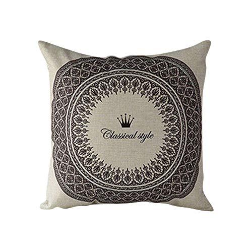 Amesii géométrique Fleur Taie d'oreiller Taille Rest Couvre-Lit Housse de Coussin Canapé Home Decor