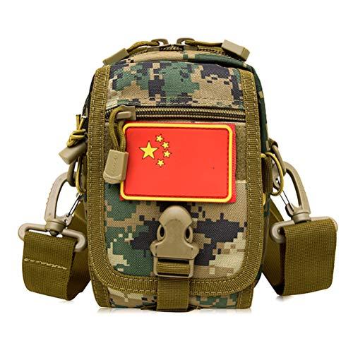 ine Tasche Molle Military Herren Messenger Bags Hochwertige Schultertaschen Männliche wasserdichte Nylon Reisehandtasche, B ()