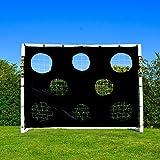 Torwand für große Fußballtore 7.3×2.4m - 3