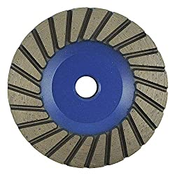 Segment Cup Wheel 4 in.dia. Medium Grit