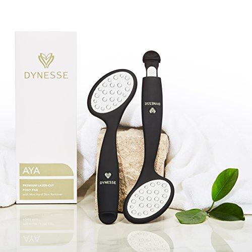 DYNESSE Premium Laser-Raspacalli per Piedi. Include Lima Mini per Rimozione della Pelle Morta e Ridurre Duroni. Raspa per Pedicure e Cura Piedi, Togli Calli, Rimuovi la Pelle Rigido e Ruvida.