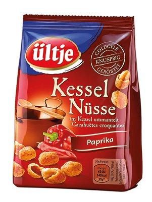Preisvergleich Produktbild ültje Kessel Nüsse,  Paprika, 1 Pack (125 g)