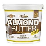 Mantequilla de Almendras de HSN | Textura Cremosa y Suave - Almond Butter Smooth - 100% Natural | Apto Vegetariano - Sin grasa de palma - Sin grasa trans - Sin azúcar ni sal añadidos - 1000g