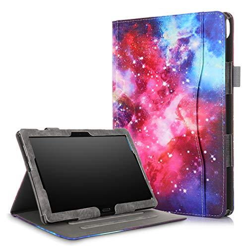 Xuanbeier Schutzhülle Multi - funktions Ständer Schutz Hülle für Lenovo Tab 4 10 / Tab4 10 Plus/E10 10 inch mehrere Blickwinkel (Z-Galaxy)