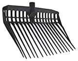 Kerbl 326052 Dunggabel Ecofork, ohne Stiel, schwarz