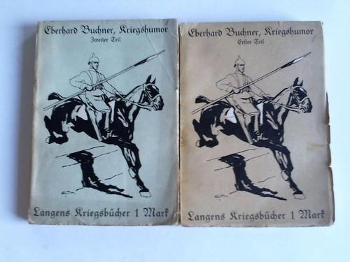 Kriegshumor, 1. und 2. Teil. 2 Bände
