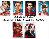 Dexter - Season/Staffel 1-6 deutsch [24DVDs]