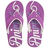 Animal Women's Swish Logo Flip Flops