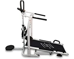 Sparnod Fitness Treadmill Manual STH-600 - Free Installation Service - 4 in 1 Multifunction (Treadmill, Stepper, Twister and