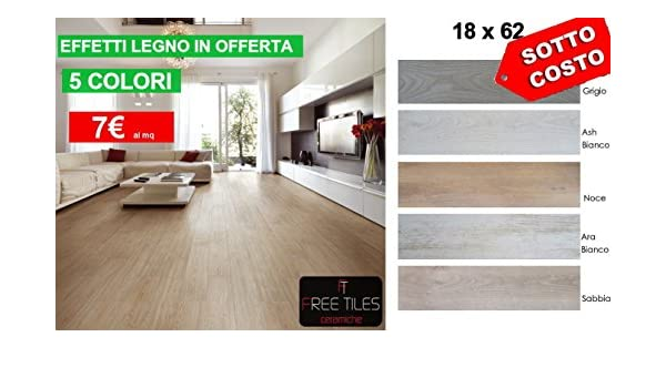 Pavimenti Effetto Legno Tortora : Campione piastrelle pavimento gres effetto legno bianco