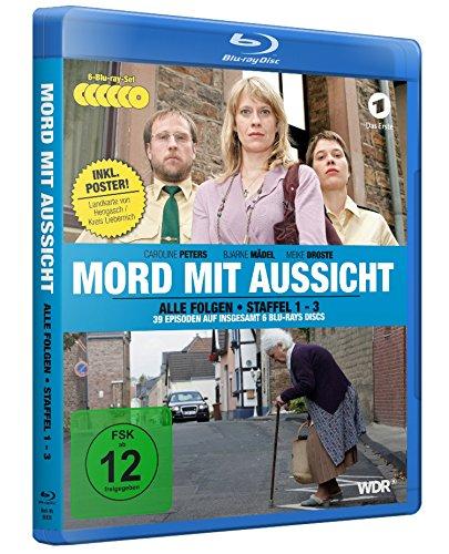 Mord mit Aussicht - Staffel 1-3 inkl. Landkarte von Hengasch/Kreis Liebernich als A2-Poster [6 Blu-rays]
