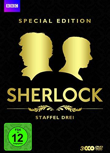 Sherlock - Eine Legende kehrt zurück! Staffel drei (Special Edition, 3 Discs)