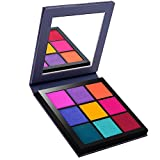 ROMANTIC BEAR 4 Seasons Shimmer and Matte Waterproof Eyeshadow Palette With Mirror,Mini Size (SPRING)