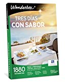 WONDERBOX Caja Regalo -Tres DÍAS con Sabor- 1.880 estancias para Dos Personas