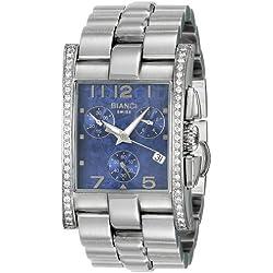 Roberto Bianci Midsize 9036DIA_BL Diamant Akzent Chronograph
