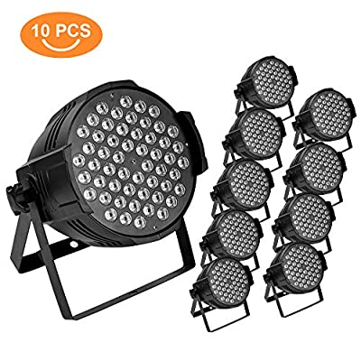54X3W Stage Light LED DJ PAR Light RGBW 162W DMX 512 Stage Lighting Disco Projector