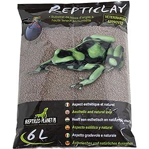 Reptiles Planet Katzenstreu Zwischenschicht Ablaufloch für Terrarium Tropical repticlay 6L