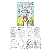 10 Mini Easter Puzzle Activity Books A6 - Girl or Boys Party Bag Fillers