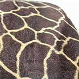 VRTUR Animal Cebra Estampado de Leopardo Lanzar Almohada Protector Conchas para Sofá Cintura Cojín Cubierta Decoración para el Hogar 45x45cm