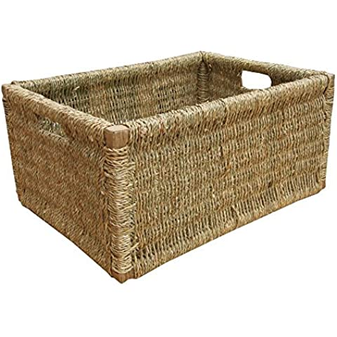 Extra Large Seagrass Basket (Basket Archiviazione)