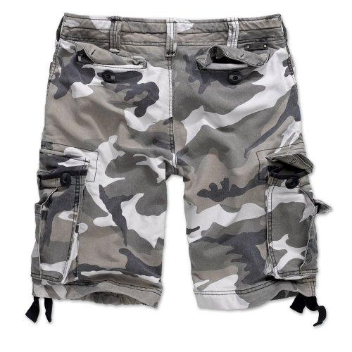 Brandit Vintage Shorts Classic Urban Camo