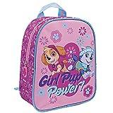 Perletti Paw Patrol Helfer auf vier Pfoten - Rucksack für den Kindergarten - Girl Pup Power - Skye und Everest 24 x 20 x 10 cm
