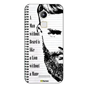 Coolpad Case,Hamee present Movember / No Shave November Themed inspired Cases Series Hard Case for Coolpad -Lion without Mane