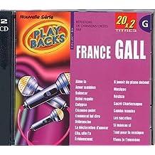 CD Play Back France Gall Avec Choeurs + Version Chantée