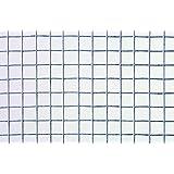 Catral 55010009 - Malla cuadrada galvanizada, 100 x 300 x 4 cm, color plata