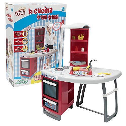 Giochi preziosi food fry magic kitchen 287,, 8056379041481