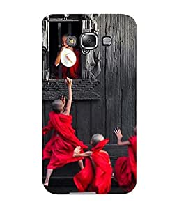 Mental Mind 3D Printed Plastic Back Cover For Samsung Galaxy E5- 3DSAME5-G1582