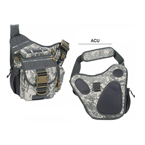 Leichtes Wandern Backpack Outdoor Multifunktions photography Angeln Camping Small Umhängetasche Tasche Camouflage Serie Rucksack Oblique Cross Package ACU
