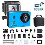 Kamera WiFi HD 1080P Wasserdicht Action Kamera mit LCD 2-inch für Tauchen, Rennen, Ski, Motocycle, motocrosse und die Wassersport