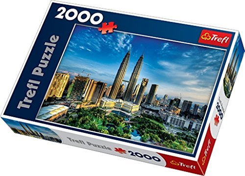 Trefl 27075 Petronas Twin Towers Puzzle (2000-Piece) by Trefl -