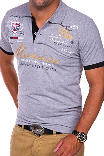 MT Styles Poloshirt MONACO Polo R-8001 Grau