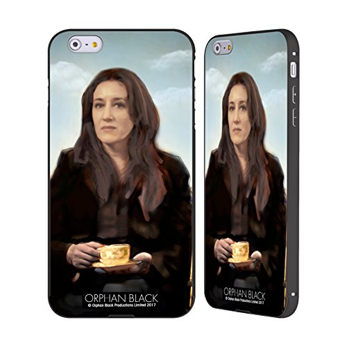 Ufficiale Orphan Black Tony Felix Opera Darte Nero Cover Contorno con Bumper in Alluminio per Apple iPhone 6 Plus / 6s Plus Mrs Dipinto