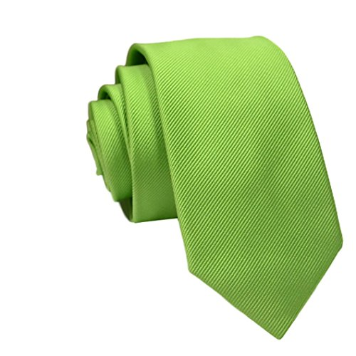 Vectry Vatertag Herren Herren Casual Slim Plain Solide Skinny Neck Party Hochzeit Business Hochzeit Anzug Herrenbekleidung Schlanke Krawatte (W6/L145, P) (Jungen Skinny-anzüge Für)
