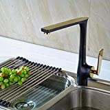 kitchen faucet Copper Baking Lacquer Faucet Kitchen Dish Hot And Cold Water Faucet
