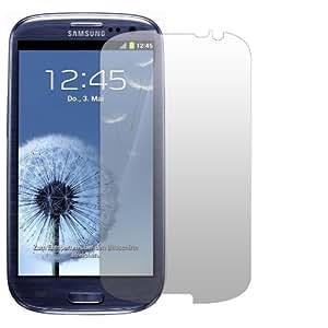 "2 x Slabo Displayschutzfolie Samsung Galaxy S3 / S3 Neo Displayschutz Schutzfolie Folie ""Crystal Clear"" unsichtbar MADE IN GERMANY"