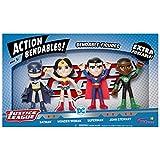 NJ Croce NJAB5000 Justice League Biegbares Set, 10 cm, 4-teilig