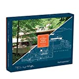 Frank Lloyd Wright Fallingwater 2-sided 500 Piece Puzzle (Puzzles)