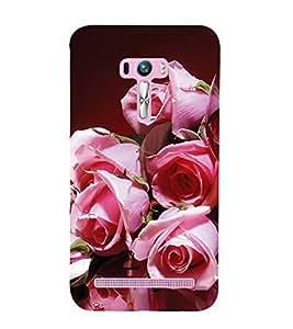 EPICCASE blusing roses Mobile Back Case Cover For Asus Zenfone Selfie (Designer Case)
