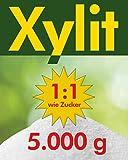 Xylit Birkenzucker 5kg - 10 x 500g Beutel